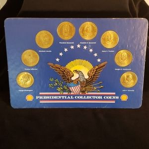 Nice Set of Shell Presidential Collector Coins